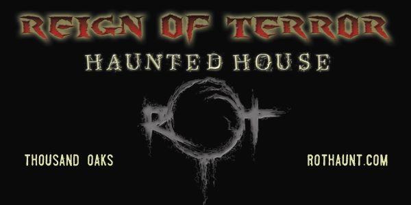Reign of Terror haunted house • Midsummer Scream